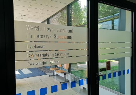 Photo no.2 (20)Wydział Fizyki, Astronomii i Informatyki Stosowanej UJ, fot. Małgorzata Kozik